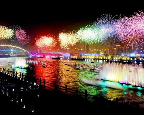 2010年上海世博会焰火燃放