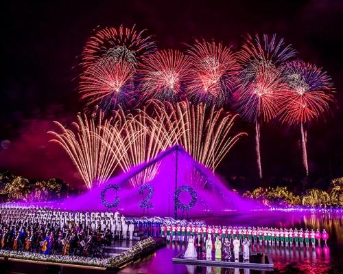 2016年杭州G20峰会焰火燃放