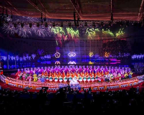 2019年北京世界园艺博览会焰火燃放